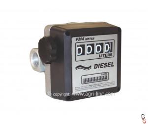 Diesel Flow Meter 4 Digit