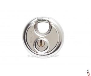 Sterling 70mm Disc Padlock stainless steel body