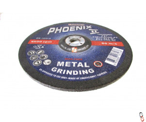 "9"" 230x6.5x22mm Depressed centre Grinding Disc"