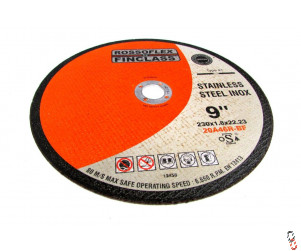"9"" 230x2x22mm Flat centre Cutting Disc"