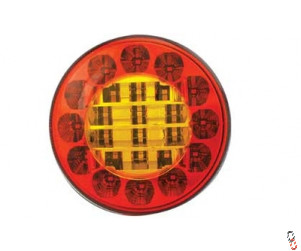LED 122mm Round Tail Lamp