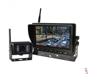 "7"" Reversing Camera Kit Complete, Wireless, No Audio"