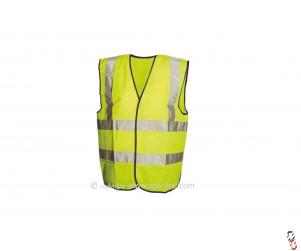 Hi-Vis Class 2 Yellow Waistcoat