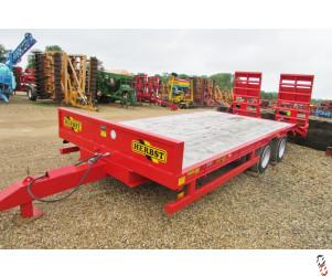 NEW HERBST 20ft, Beavertail Plant Trailer, 13 tonne carry, Base Spec,
