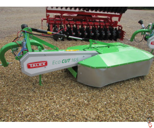 NEW TALEX TWIN DRUM Mower, 1.65 metre, 5ft6, hyd.folding