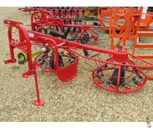 NEW HAYBOB 300 twin rotor spreader/tedder/rower 3 metre,