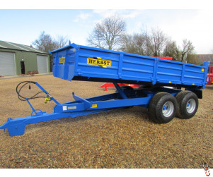 NEW HERBST 8 tonne Dropside Tipper 13ft x 7ft,