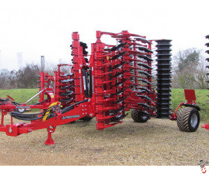 PROFORGE INVERTAMAX 5 metre Heavy Short-Disc, Speed-Disc Harrow Cultivator, New,