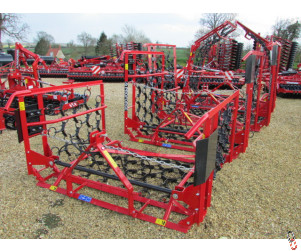 PROFORGE 4 metre Mounted Manual Folding Chain Harrow