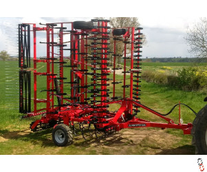 PROFORGE CULTIMAX 8 metre Trailed Springtine Cultivator, New,