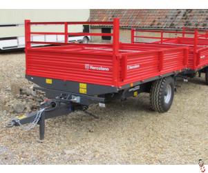 NEW HERCULANO 5 tonne 3-Way-Tip Dropside Trailer, - In Stock