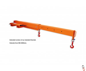 Low Profile Extending Crane Jib - 2000kg SWL