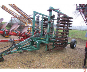 COUSINS 4.6 metre Trailed Press Type 28 Cast Ring Press
