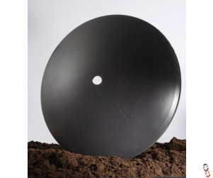 """24""""/610mm x 5mm, 50.8mm round centre, plain disc blade for Dowdeswell/Pettit 77 series discs"""