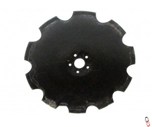 "24""/610mm 5 stud cutaway Disc Blade to suit SIMBA SL700/SLD OEM Part no. P14446,"