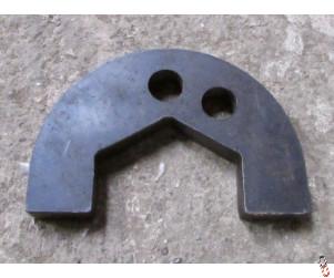 Axle Nut Locking Plate, suits Simba 1B, 2B, 3B, 12C, 23C & 34C OEM: PO249