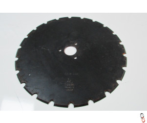 Genuine Moore Unidrill 450mm Notched Disc OEM:600001