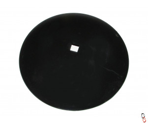 "26""/660mm x 7mm, 51mm square centre, plain disc blade to suit Gregoire Besson Heavy duty shaft"
