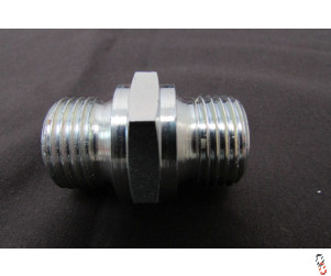 "Hydraulic Adaptor 1/2"" Male to 1/2"" Male BSP"
