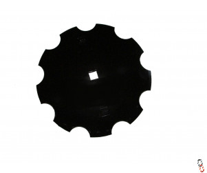 "18""/460mm x 4mm, 31mm Square Centre Cutaway Disc Blade to suit Kongskilde Terra Disc OEM: 7201003209"
