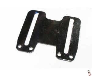 Proforge Inverta Rubber Roller Twin Scraper Bracket
