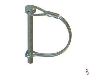 Wire Lock Pin 6mm Pin Diameter 60mm Long