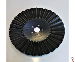 "20""/510x6mm TopStir Wavy Disc Blade 60.5mm Centre 5 stud hole suits X-press, SL & Varidisc"