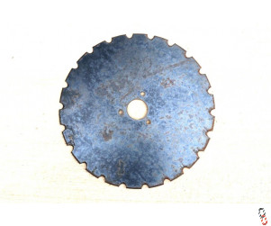 Moore Unidrill Grassland Disc Blade 410x5mm Notched OEM:600004