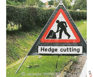Roll Up Road Signs | Folding Road Signs