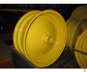 NEW Yellow Wheel Rim to suit Vaderstad Rapid drills