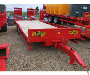 NEW HERBST 24ft, Beavertail Plant Trailer, 13 tonne carry