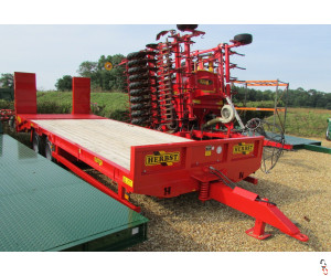 NEW HERBST 24ft, Beavertail Plant Trailer, 15 tonne carry,