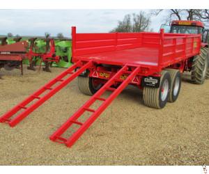NEW HERBST 10 tonne DropSide Plant Tipper Trailer,