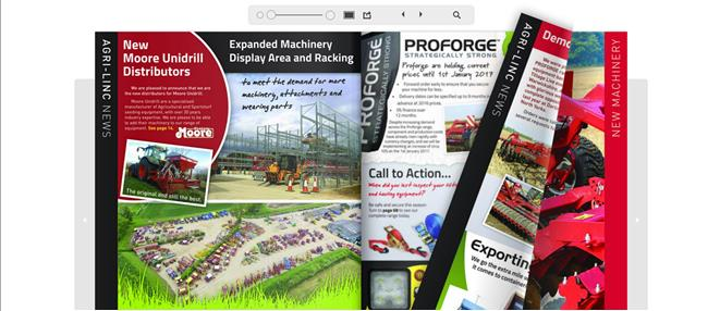 New farm machinery and equipment catalogue