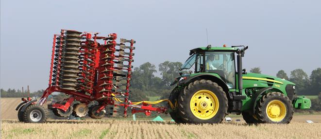 Farm Machinery - drills, bale handling equipment, spreaders, sprayers, trailers, tractors and other farm equipment.